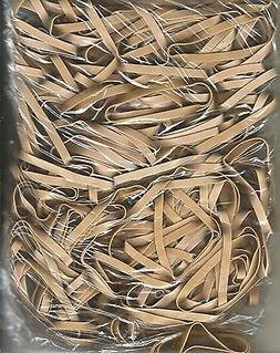 100 HEAVY DUTY RUBBER BANDS  #64  OFFICE / MAILING  X-TRA ST