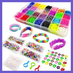 11500+ Rainbow Loom Bands Mega Refill Kit – Rubber Band Br