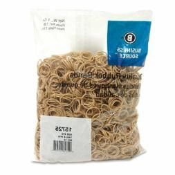 Business Source 15725 Rubber Bands, Size 10, 1 lb/BG, 1-1/4