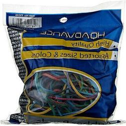 2 Pack HQ Advance High Quality Rubber Bands, Assorted Sizes,