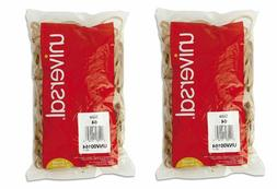 """2 PACK Universal Rubber Bands, Size 64 3-1/2""""x1/4"""" 320ct./1l"""