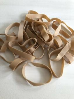 25 Rubber Bands - Size #84 - 3 1/2 x 1/2 - Strong Large Wide
