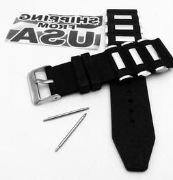 26mm Russian Diver silicon Rubber watch band strap Invicta B