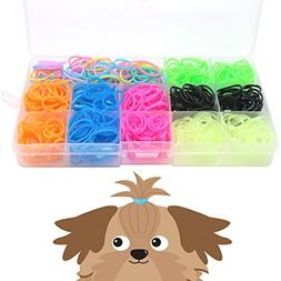 YOY 3/4 Pet Dog Stretchy Rubber Bands, 600/Box - Puppy Elast