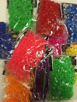 3600 WHOLESALE TIE DYE MIXED Color loom refill rubber bands