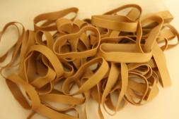 50 Rubber Bands-Business Source-Size #84 - 3 1/2 x 1/2 - Str