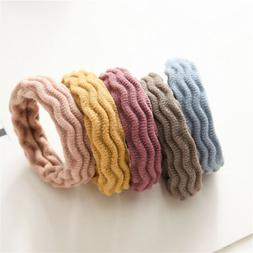 5X Girls Elastic Rubber Hair Ties Bands Rope Ponytail Holder
