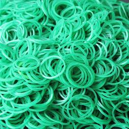 """600 Rubber Bands Size 12 Green 1 3/4'' X 1/16"""" Natural Elast"""