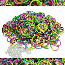 600 TIE DYE Authentic Fun Loom Rubber Bands Refills for Brac