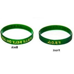 Fully Rely on God F.r.o.g. Silicone Rubber Wristband Bracele
