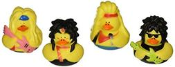 Fun Express Vinyl Big Hair Rubber Duckies