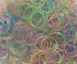 Generic Refill Bands Pack of 1200 Glitter Style 1 Rubber Ban