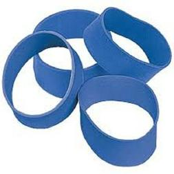 Industrial Strength Rubber Bands - 5 Pack, Blue