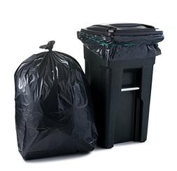 Plasticplace 65 Gallon Extra Heavy Trash Bags , 2.7 Mil, 50""