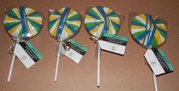 "Rubber Bands Lollipop Style 7"" By Sabrina Soto 4 Packs 200 T"