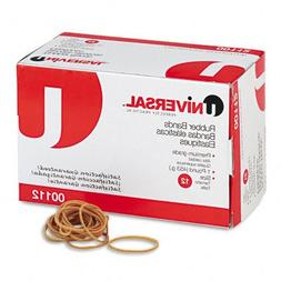 Universal : Rubber Bands, Size 12, 1/8 x 1-3/4, 2580 per 1lb
