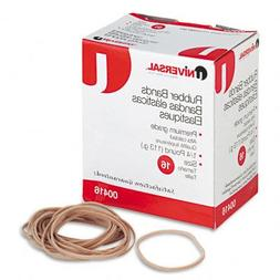 Universal : Rubber Bands, Size 16, 1/8 x 2-1/2, 535 per 1/4l