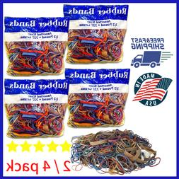 Alliance Rubber Bands Assorted Dimensions office school Mult