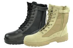 Army Combat boots Patriot boots with BW Zip Combat Boots NEW