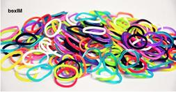 Authentic Rainbow Loom@ Silicone Rubber Bands Refill 600+ban