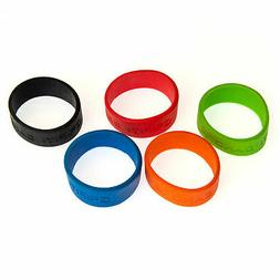 Grifiti Band Joes 2 Inch 5 Pack Tough Silicone Replaces Rubb