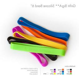 """Grifiti Band Joes 6"""" 5 Assorted Pack Heat Cold UV Chemical R"""