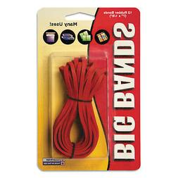 Big Bands, Rubber Bands, 7 x 1/8, 12/Pack