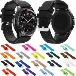 Brand Sport Silicone Strap for Samsung Gear S3 S 3 Frontier/