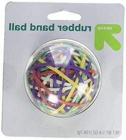 Brightly Colored Rubber Band Ball