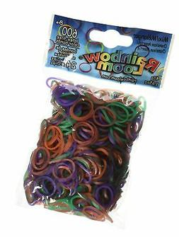 Rainbow Loom Chameleon Mood Change Rubber Bands with 24 C-Cl