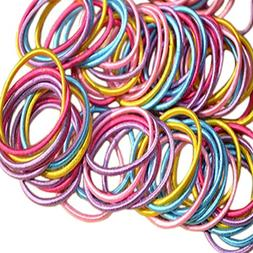 WeiMay Colorful Elastic Bands Hair Rubber No-Damage Band Hai