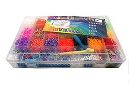 colorful rubber band refill kit