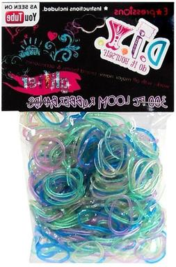 Expressions Girl / D.I.Y. 300-piece Glitter Latex-free Rubbe