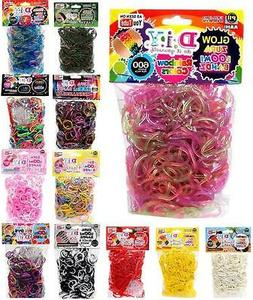DIY ZUPA LOOMI BANDZ kit loom rubber band bracelets 600 band
