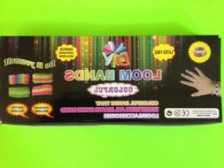 DIY Loom Bands Kit Includes 600 Rubber Bands And 25 Clips