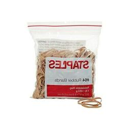 Staples Economy Rubber Bands Size #64 1 lb. 808659