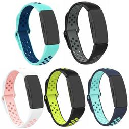 For Fitbit Inspire & Hr & Ace 2 Bands Sport Strap Silicone R