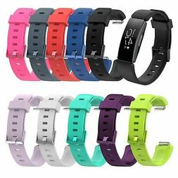 For Fitbit Inspire / Inspire HR Silicone Rubber Sports Watch