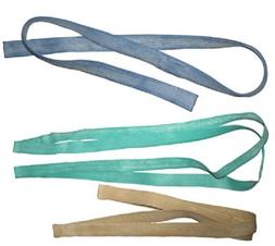 "HEAVY DUTY MOVING RUBBER BANDS TAN 50"" GREEN 60"" BLUE 72"" U"