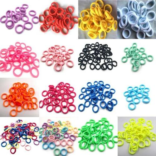 10/50pcs Candy Elastic Rubber Bands