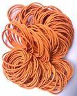 100 Wide Rubber Band Elastics 2.5cm Strong Stretch Thick Nat