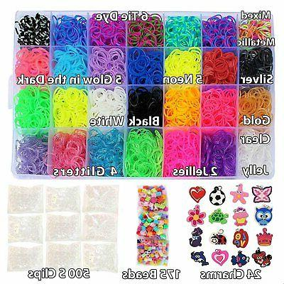 Totem World 11000 Pc Rainbow Color Loomy Rubber Bands DIY Refill -