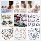12pcs lot elastic hair ties knot ponytail