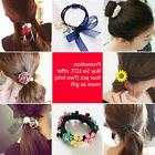 2pcs/lot hair ring head rope bow tie hair rubber band for ho