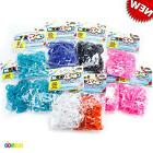 3000 Cra-Z-Loom Mix Color Rubber Band Refill Pink Blue Cyan