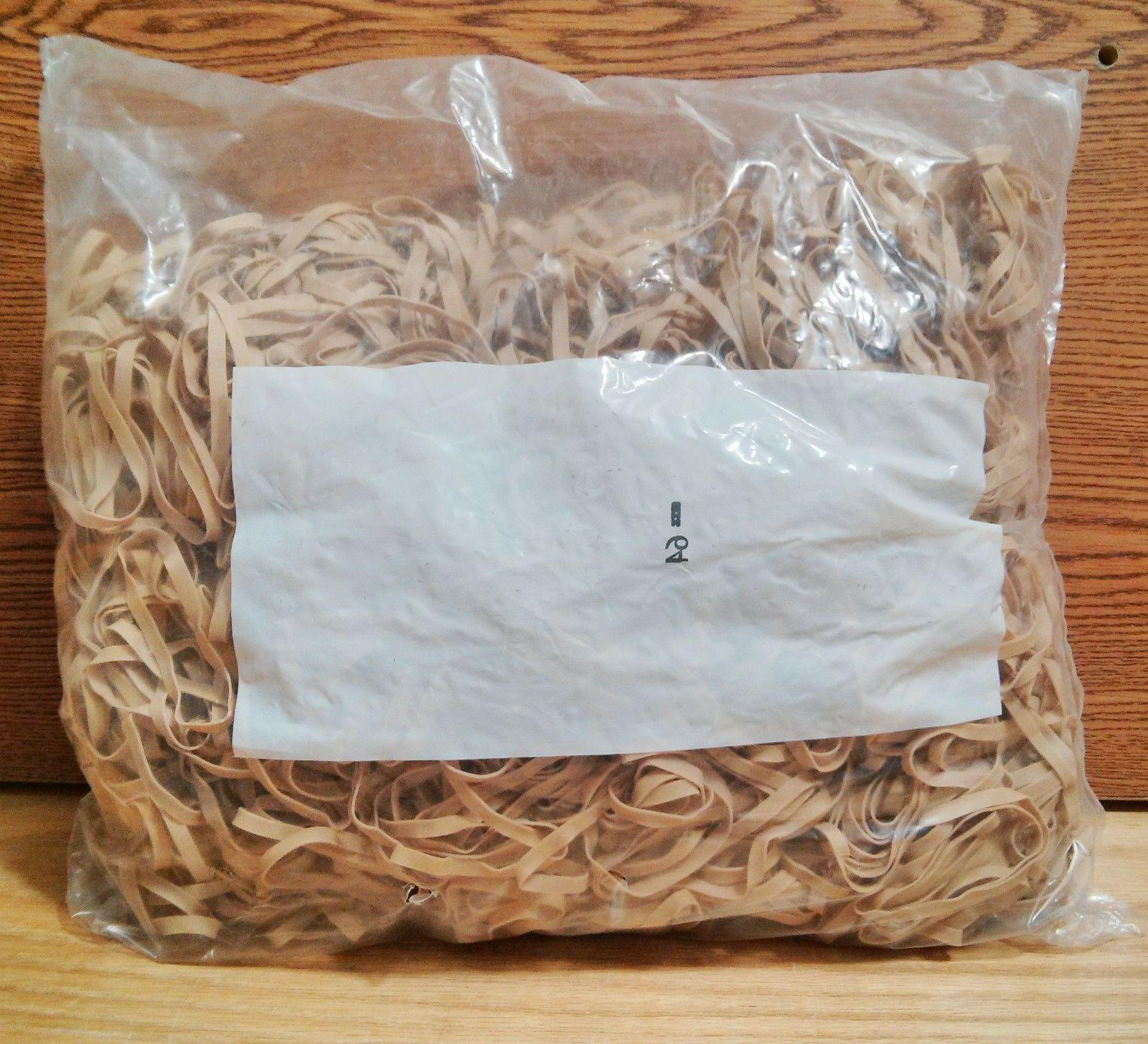 "5 lb Bag - Alliance Postal Rubber Band - Size #64, 3 1/2"" x"