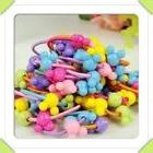 50 pcs   Sunny Funny   Baby & Toddler hair  Ponytail Rubber