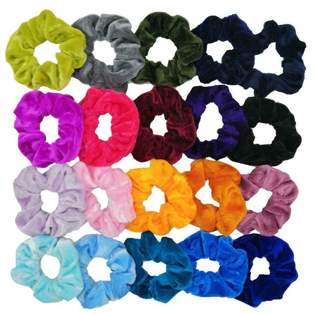 50pcs Rubber Women Hairband Rope Decor Gifts