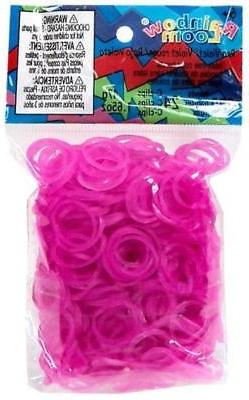 ~Brand New~ Rainbow Loom Rose Jelly Rubber Bands Refill C-cl