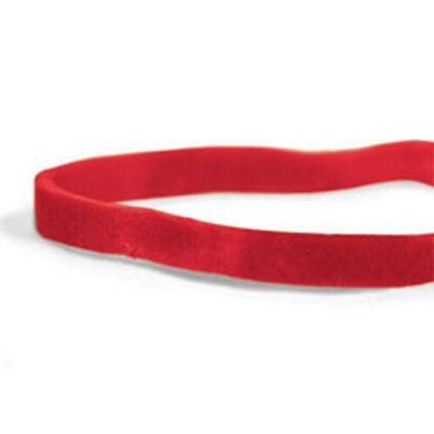 """CWC #32 Rubber Bands - 3"""" x 1/8"""", Red, Compound"""